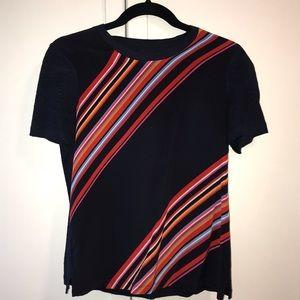 Tory Burch silk front T-shirt